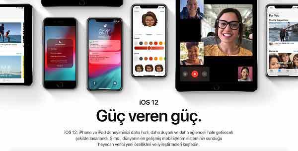 |  || Apple'ın Yeni İşletim Sistemi: iOS 12
