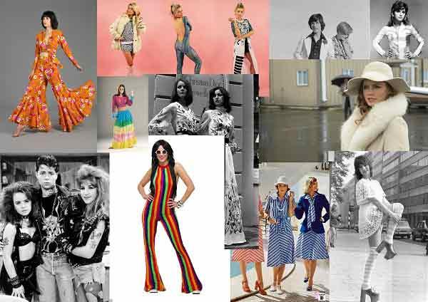 |  || 70'ler Modasının En İyi 10 Trendi Bazı moda trendleri öyle çok seviliyor öyle çok kullanılıyor ki; zamansız olmayı başarabiliyor. Böylece geçmişte tre