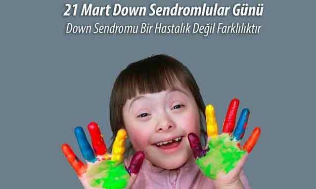|  || Toplumun +1 Neşeleri 21 Mart Down Sendromu Farkındalık Günü