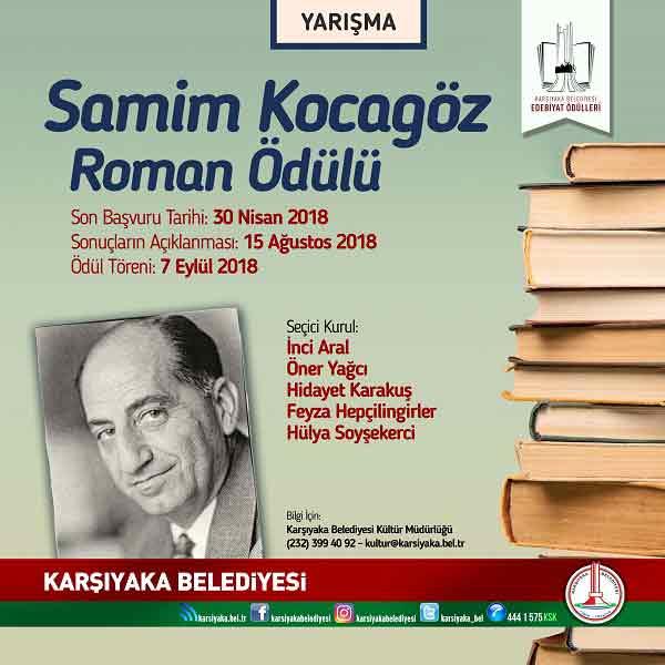 |  || Karşıyaka Belediyesi Edebiyat Ödülleri Dağıtacak