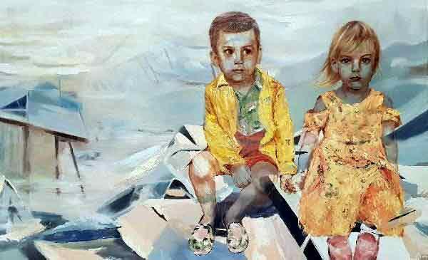 |  || Ahmed Adnan Saygun'da 'Hiçliğin Varlığı' Sergisi