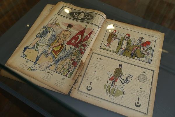 Ege Life   Ata'nın Karikatürleri Konak'ta Sergiye Çıktı