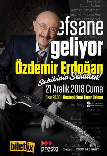 Ege Life | Özdemir Erdoğan İzmirlilerle Buluşuyor Müziğin Efsane İsmi 21 Aralık'ta İzmir'de
