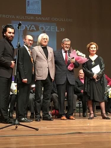Ege Life | 26. Troya Kültür-Sanat ÖdülleriVerildi