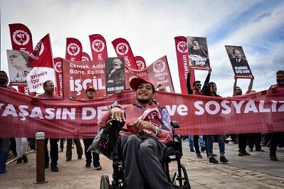 |  || İzmir'de 1 Mayıs Coşkuyla Kutlandı
