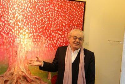 """Ressam Muzaffer Akyol'dan """"Yüklendim Narımı Düştüm Yollara...""""   GEZİ & KÜLTÜR SANAT"""