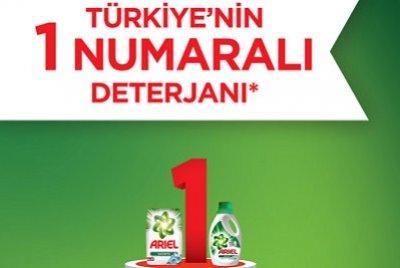 Ariel Plus Toz Çamaşır Deterjanı Febreze Etkili | DOSYA & HABER
