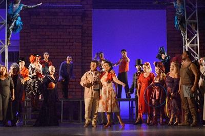 |  || İzmir Devlet Opera ve Balesi'nden  Cavalleria Rusticana ve Palyaçolar