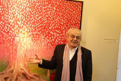 "|  || Ressam Muzaffer Akyol'dan ""Yüklendim Narımı Düştüm Yollara..."""