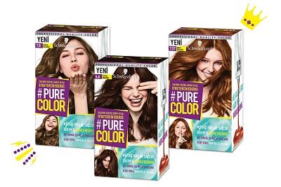 |  || Saçınızın Seçme Şansı Olsa,  Onu Tercih Ederdi: Pure Color!