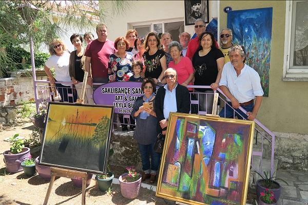 GEZİ & KÜLTÜR SANAT | KÜLTÜR SANAT || Saklıbahçe Sanat Evi, Bağarası'nda Şube Açtı