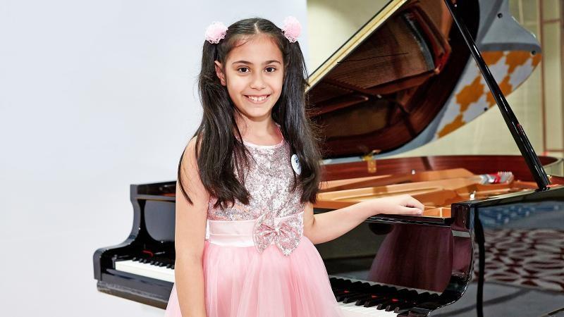 |  || Geleceğin Piyanisti Arya Su Gülenç